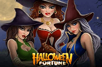 В казино автомат Удача В Хэллоуин