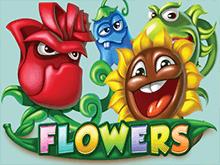 В казино онлайн автомат Цветы